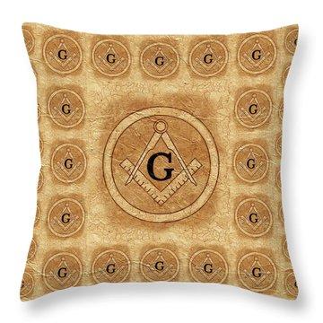 Masonic Throw Pillows