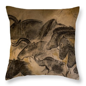 Chauvet Throw Pillow