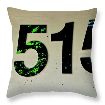 1515 Throw Pillow
