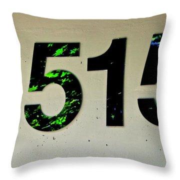 1515 Throw Pillow