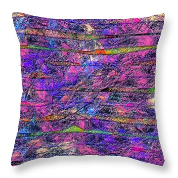1531 Abstract Thought Throw Pillow