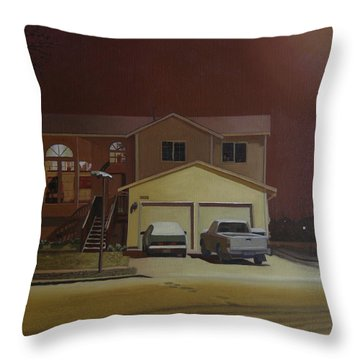 15698 168th Ave. S.e. Throw Pillow by Thu Nguyen