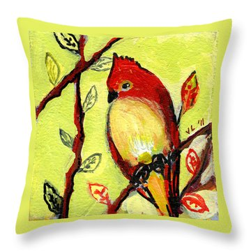 Cardinal Throw Pillows