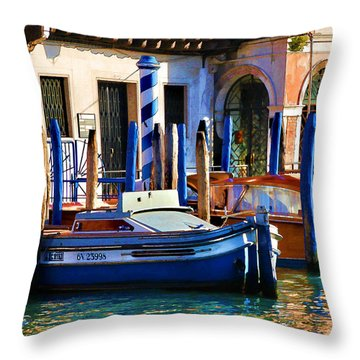 Venice - Untitled Throw Pillow