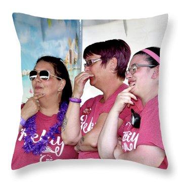 1605 Throw Pillow