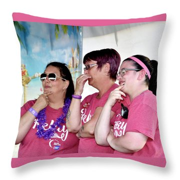 1605 Throw Pillow