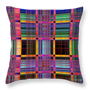 1672 Abstract Thought Throw Pillow