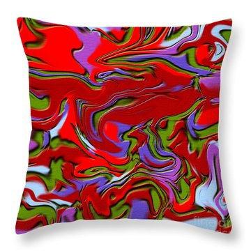 1695 Abstract Thought Throw Pillow