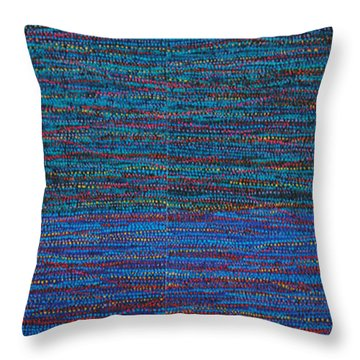 Identity Throw Pillow by Kyung Hee Hogg
