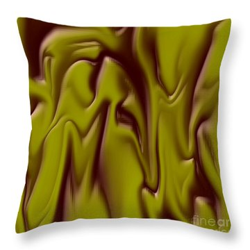 1710 Abstract Thought Throw Pillow