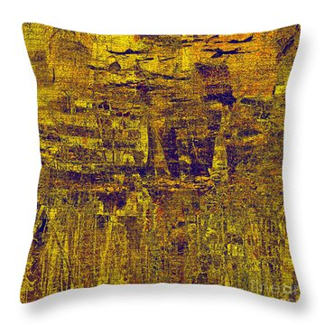 1748 Abstract Thought Throw Pillow