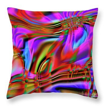 1783 Abstract Thought Throw Pillow