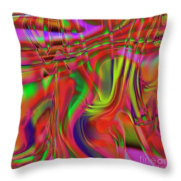 1799 Abstract Thought Throw Pillow