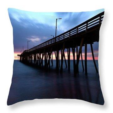 17th St. Virginia Beach, Va. Throw Pillow
