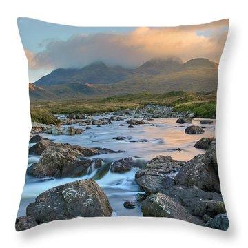 Sligachan - Isle Of Skye Throw Pillow