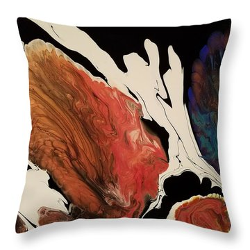 #183 A - Without Fish  Throw Pillow