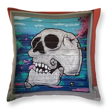 Kc Graffiti Throw Pillow