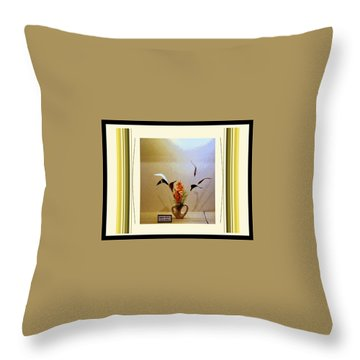 Digital Artistry Throw Pillow