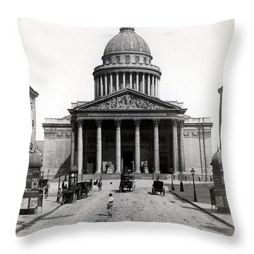 1890 The Pantheon Of Paris France Throw Pillow by Historic Image