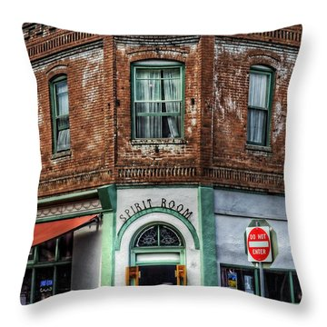 1898 Hotel Connor - Jerome Arizona Throw Pillow