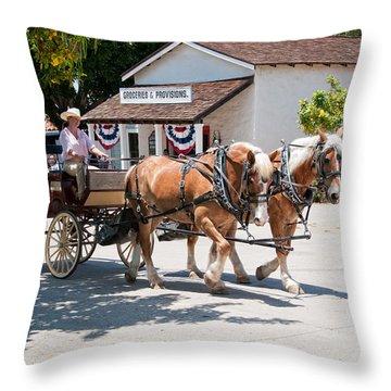 Old Town San Diego Throw Pillow
