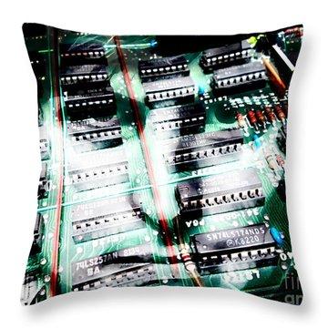 Steve Jobs Collection Throw Pillow