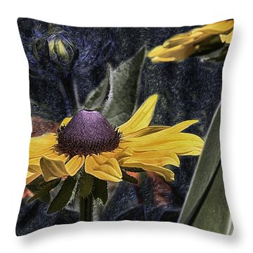 Thinking Of Vincent Van Gogh Throw Pillow