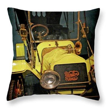 1904 Winton Flyer Throw Pillow by Ernie Echols