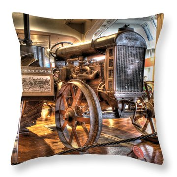 1917 Model 1 Fordson Tractor Dearborn Mi Throw Pillow