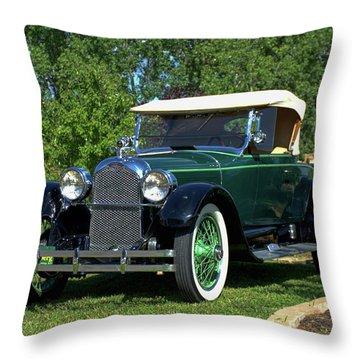 1922 Duesenberg Model A Throw Pillow