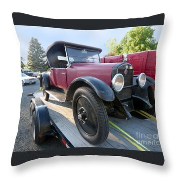 1922 Studebaker Throw Pillow