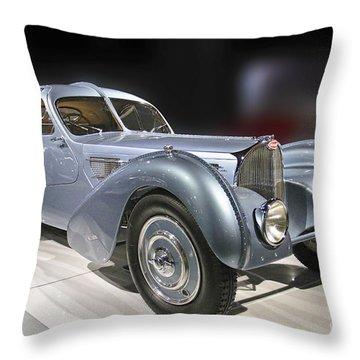 1926 Bugatti Throw Pillow