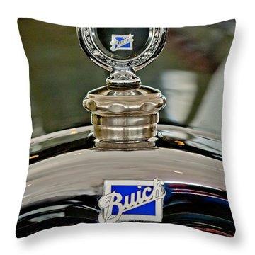 1926 Buick Boyce Motometer Throw Pillow by Jill Reger