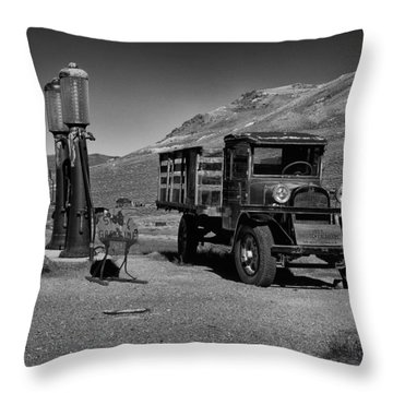 1927 Dodge Graham B And W Throw Pillow