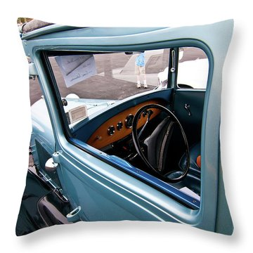 1929 Ford 2056 Throw Pillow by Guy Whiteley