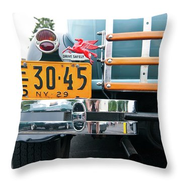 1929 Ford 2058 Throw Pillow by Guy Whiteley