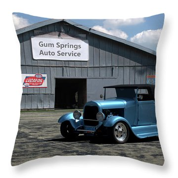 1929 Ford Roadster Throw Pillow