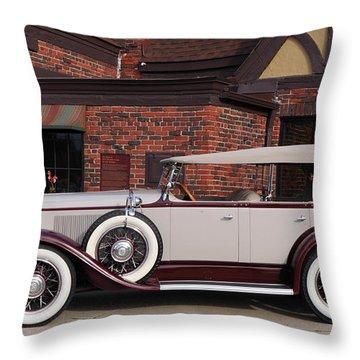 1930 Buick Phaeton Throw Pillow