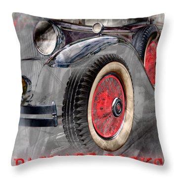 1930 Packard Throw Pillow