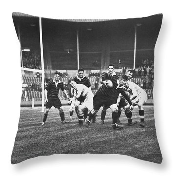 1931 Challenge Cup At Wembley Throw Pillow