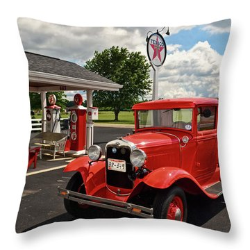 1931 Ford Truck  001 Throw Pillow