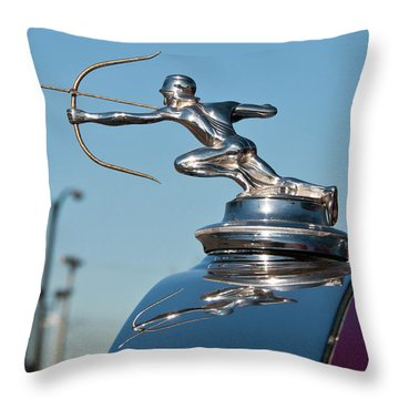 1931 Pierce Arrow 3471 Throw Pillow by Guy Whiteley