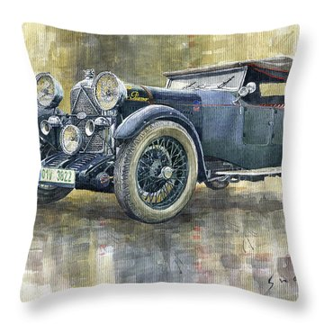 1932 Lagonda Low Chassis 2 Litre Supercharged Front Throw Pillow