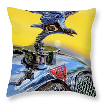 1932 Alvis Hood Ornament Throw Pillow by Jill Reger