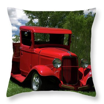 1932 Ford Flatbed Pickup Throw Pillow