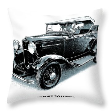 1932 Throw Pillows