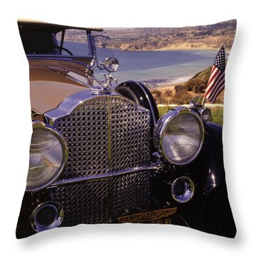 1932 Packard Phaeton Throw Pillow
