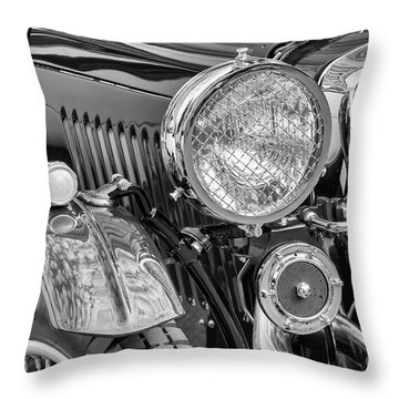 Throw Pillow featuring the photograph 1934 Mg Pa Roadster by Dennis Hedberg