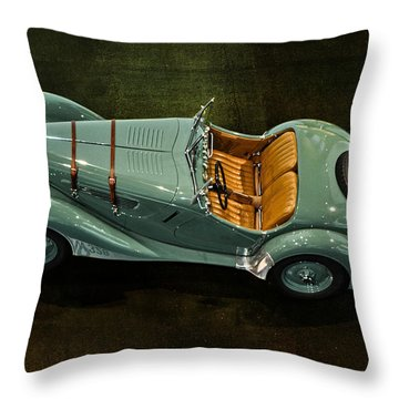 1936 Bmw 328 Roadster Throw Pillow