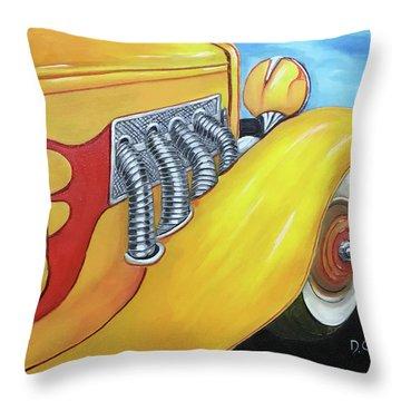 1936 Duesenberg Throw Pillow